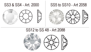 Swarovski Art 2000n 2058,2088 line up