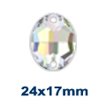 Swarovski 3210 Oval 24x17mm