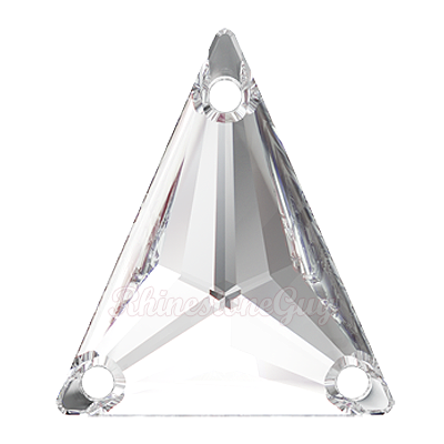 Swarovski Art 3271 Slim Triangle Crystal