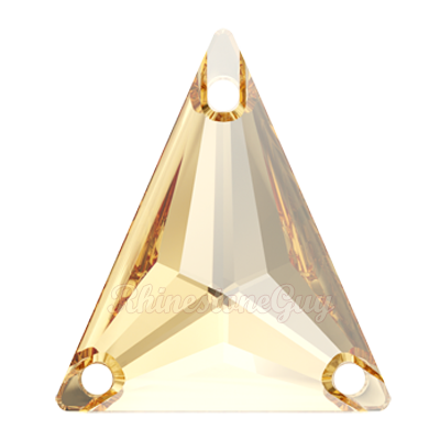 Swarovski Slim Triangle Golden Shadow
