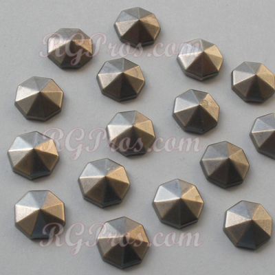 Convex Diamond Cut Nailheads