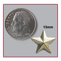 Convex Star with a dime