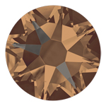 Swarovski Xirius 2078 Crystal Bronze Shade SS20 Hot Fix Rhinestones
