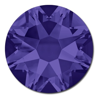 Swarovski Xilion 2038 Purple Velvet SS 6 Hot Fix Rhinestones