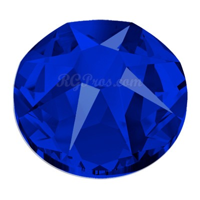 Swarovski Xirius 2088 High Voltage Blue SS30 Flatback Rhinestones