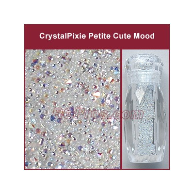Swarovski Crystal Pixie <b><u>Petite</b></u> 5 gram - Cute Mood (Crystal AB)